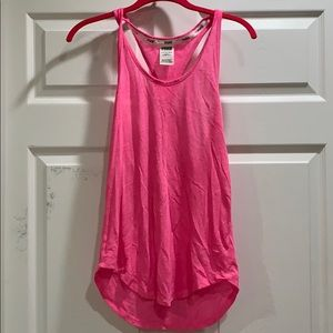 Victoria's Secret Pink Curved Hem Tank Top XS